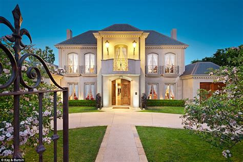 french chateau style modern french chateau style mansion in melbourne sells