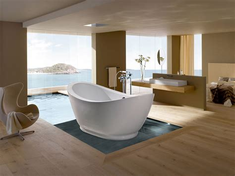 bad mit freistehender badewanne freistehende badewanne luxus und eleganz im badezimmer