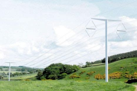 pylon design competition national grid t shaped pylon design wins national grid award metro news