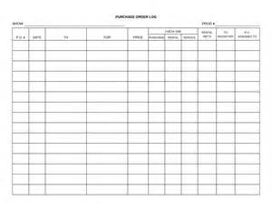 excel purchase order tracking template 5 free purchase order log templates word excel pdf