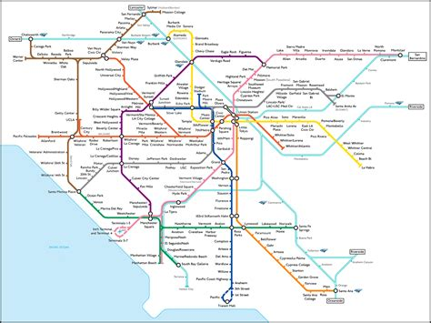 map los angeles news tourism world map of los angeles underground pictures