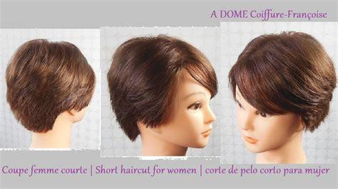 coupe courte femme quot d 233 grad 233 e quot short haircut for women