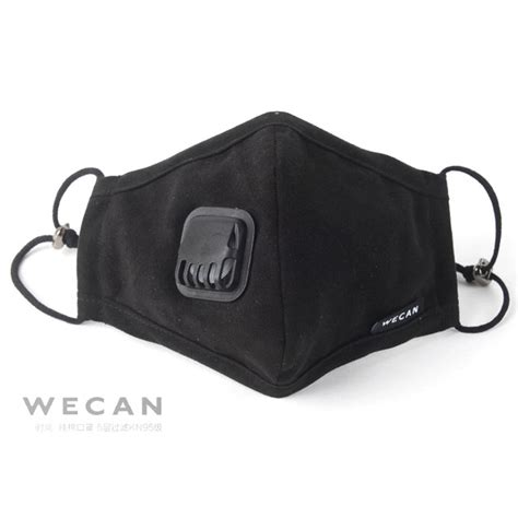 Masker Filter Udara masker filter anti polusi udara black jakartanotebook