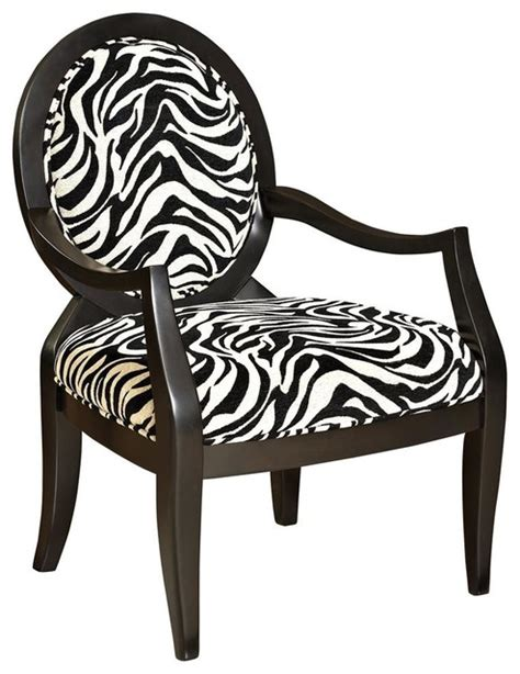 Zebra Print Accent Chair Oval Accent Chair With Zebra Print Contemporary Armchairs And Accent Chairs