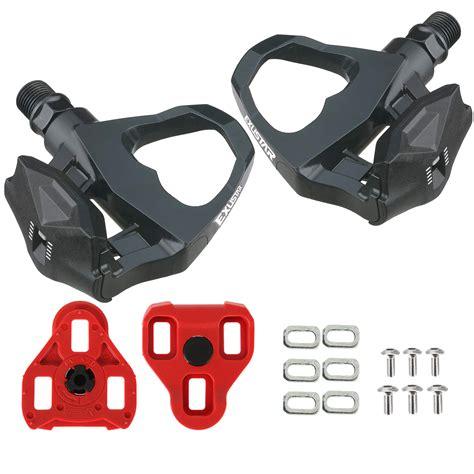 racing bike pedals and shoes exustar e pr16 look keo compatible road racing bike pedals