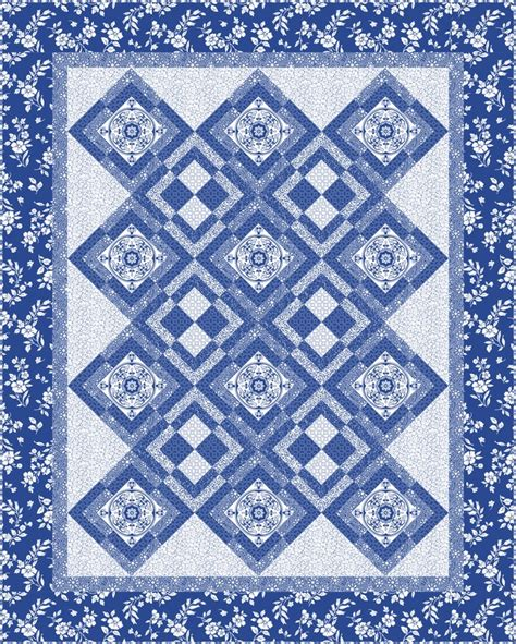 Blue Moon Quilt Pattern by Blue Moon Free Pattern From Quilting Treasures Iris Quilts