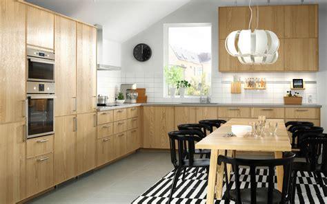 Kitchen Remodel Ideas With Oak Cabinets by Les Cuisines Ikea Le Blog Des Cuisines