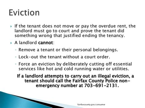 Lease Notice For Noise What Tenants Need To In Fairfax County