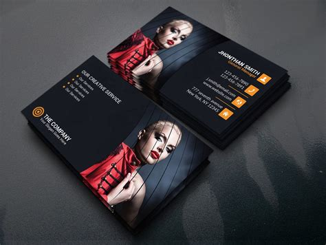 free photography business card template 100 free business cards psd 187 the best of free business cards