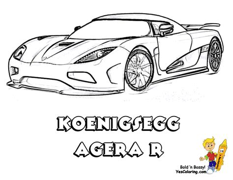 koenigsegg car drawing full force race car coloring pages free nascar