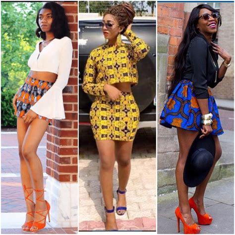 ankara skirts styles these 8 ankara mini skirt styles are for the bold and