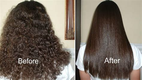 home tricks to make the hair straight from top and curly from bottom how to get straight hair naturally at home hair