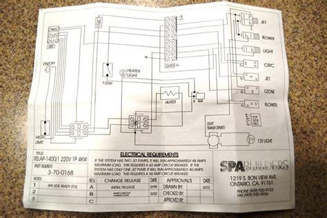 Royal Spa Wiring Diagram