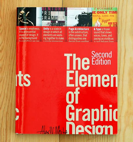 layout as an elements of visual design the elements of graphic design second edition the