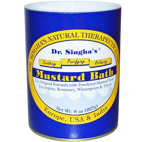 Mustard Detox Bath by Dr Singha S Mustard Bath 8 Oz 227 G Iherb