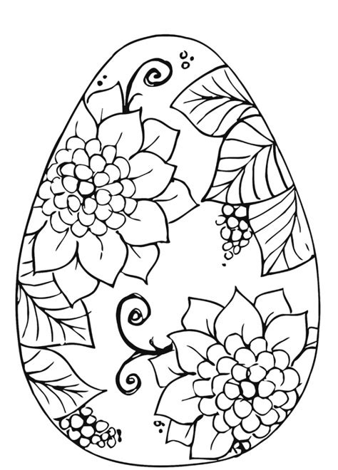 easter egg coloring page for adults get this adults printable easter egg coloring pages 86904