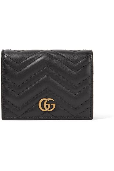 gucci gg marmont small quilted leather wallet net a porter