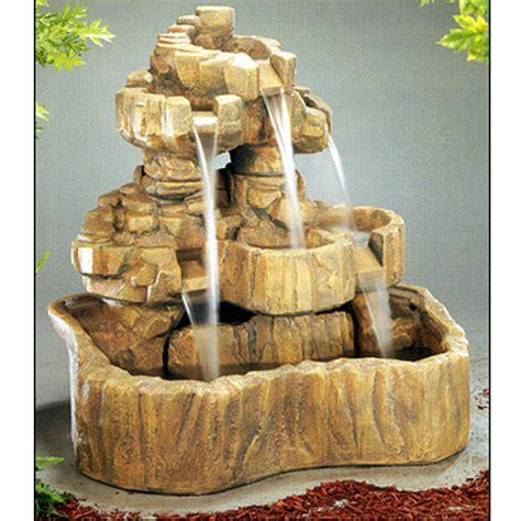 henri studio medium rock falls fountain   shipping