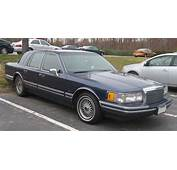 1994 LINCOLN TOWN CAR  Image 5