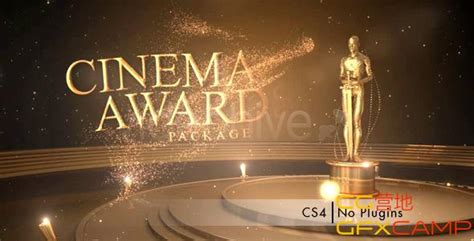 奥斯卡颁奖典礼 Videohive Cinema Awards Package 龋齿一号gfxc After Effects Awards Template