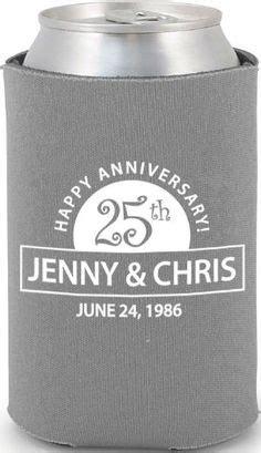 Wedding Anniversary Koozies by Wedding Anniversary Designs On Wedding Koozies
