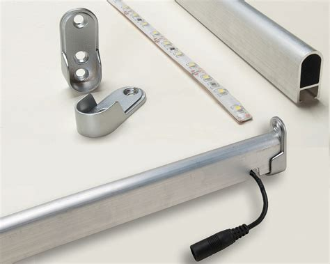 Led Closet Rod by Outwater Introduces Its Led Closet Rod Light Kit
