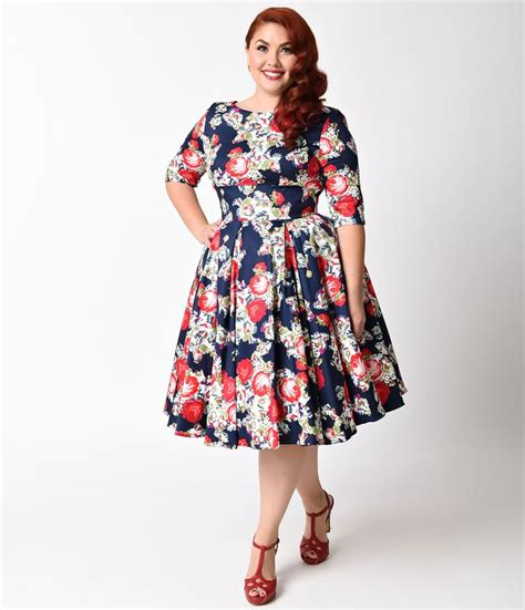 360 best 1950s plus size clothing images on