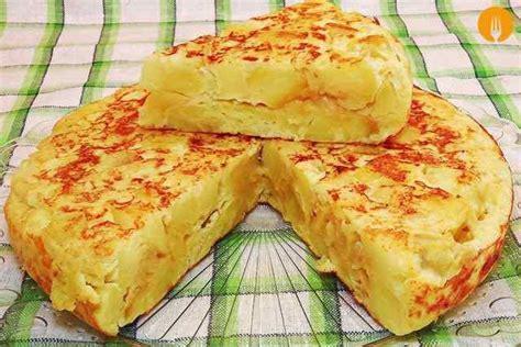 recetas de cocina tortilla de patatas tortilla de patatas o espa 241 ola recetas de cocina casera