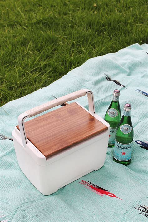 diy modern and cool cooler almost makes