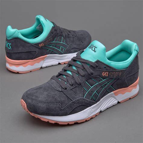 Sepatu Merk Tiger sepatu sneakers asics tiger womens gel lyte v grey