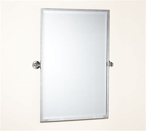 pivot bathroom mirror kensington pivot rectangular mirror pottery barn au