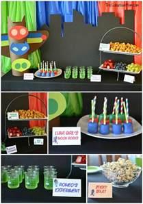 pj masks birthday party ideas free printables suburban mom