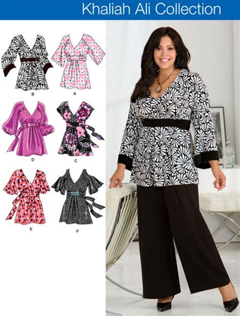 plus size top sewing pattern s khaliah ali tops
