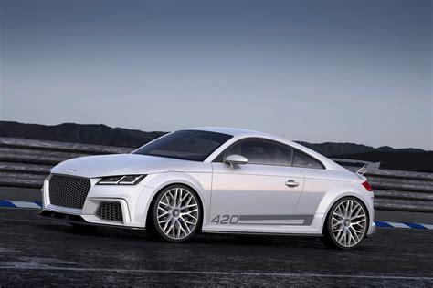 new audi tt quattro new audi tt coupe mans up with 414hp quattro sport concept