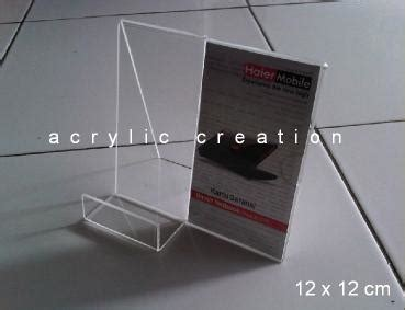 Dudukan Display Jam category tempat handphone acrylic akrilik acrylic