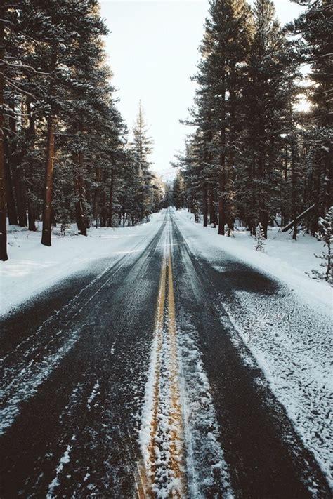 fotos tumbrl invierno carretera fondo invierno nieve wallpaper image