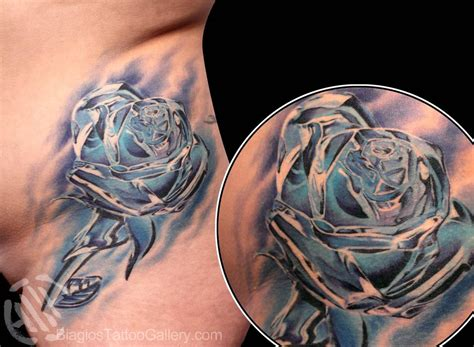 crystal rose tattoo crystalline by biagio tattoos