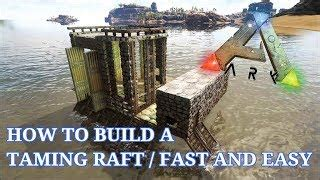 ark boat taming pen hmongbuy net how to build a mobile taming pen base