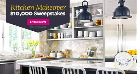 kitchen makeover sweepstakes 2014 better homes gardens kitchen makeover 10 000 sweepstakes