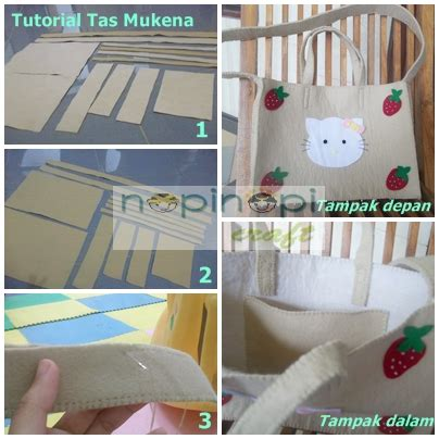 tutorial membuat tas make up nopinopicraft tutorial membuat tas mukena