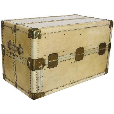 large coffee tables for sale stylish large antique vellum steamer trunk coffee table
