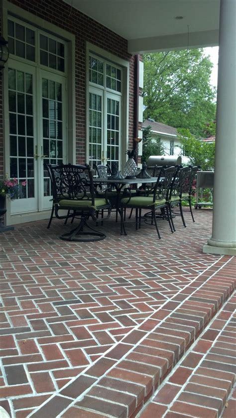 herringbone brick patio herringbone patio home design ideas and pictures