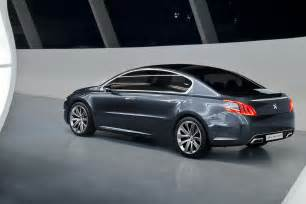 Peugeot 508 Sedan New Peugeot 508 Concept Next 407 And 607 Sedan Autotribute