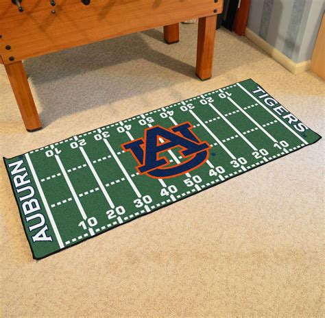 Football Field Mat by Fan Mats 17935 Auburn Tigers 30 Quot X 72 Quot Football Field Runner