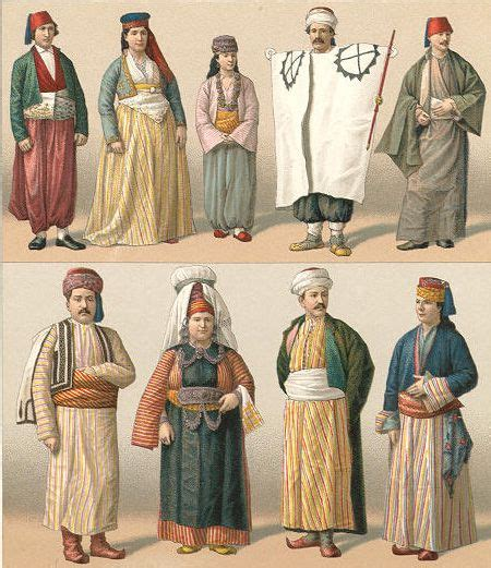 ottoman costumes ottomans turkish people and costumes on pinterest