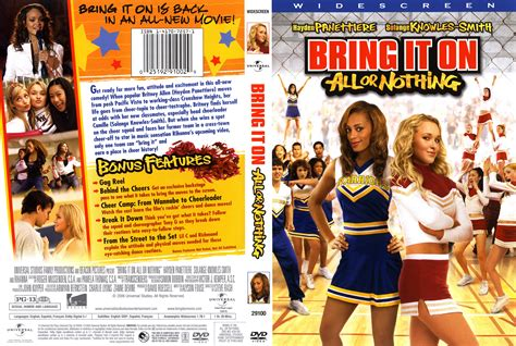 Watch Bring Nothing 2006 Full Movie Bring It On All Or Nothing 2006 Ws R1 Movie Dvd Cd Label Dvd Cover Front Cover