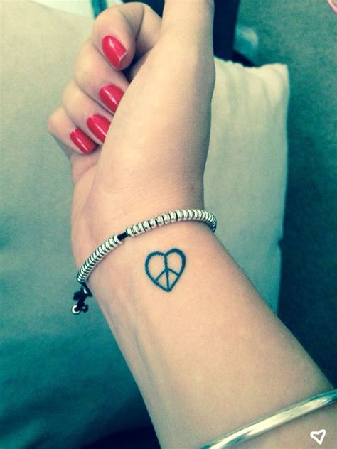 love peace tattoo designs paz tat ideas tattoos small tattoos wrist tattoos