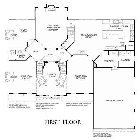 henley floor plans 1st floor floor plan