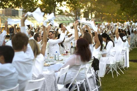 The Secret Of Blanc melbourne s secret white dinner diner en blanc returns