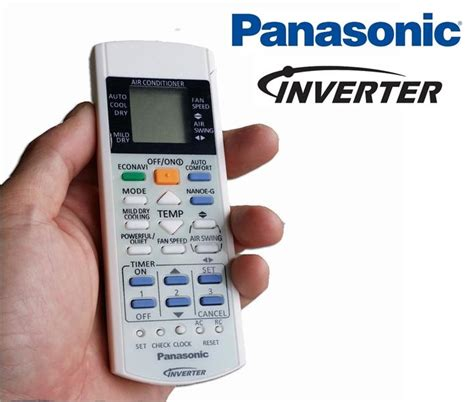 Remote Ac Panasonic Original panasonic aircon remote manual scaborc